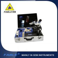 China Portable Jewelry Gem Testing Kit  Fable Protable Identification Travel Lab With 8 / 10 / 16 Items on sale