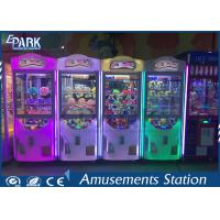 Crazy Toy Crane Game Machine 3 Grab With Claw Anti - Shake Balancer 100KG Manufactures