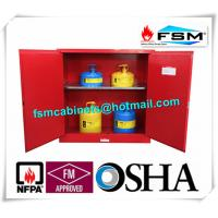 30 Gallon Chemical Storage Lockers , Safety Containers For Flammable Liquids Manufactures