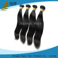 Quality Silky Straight  Malaysian Virgin Hair Extensions Double Weft No Smell No Shedding for sale