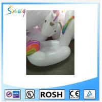 Funny Pvc Inflatable Water Park Unicorn Water Toy Pool Float Manufactures