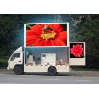 Digital HD Truck Mounted led display mobiles with Meanwell Power supply Manufactures