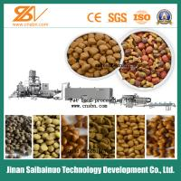 Pet Food Extruder Animal Feed Processing Machine , Poultry Feed Processing Machine Manufactures