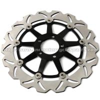Quality ZX7R NINJA Motorcycle Brake Disc Brakes And Rotors Kawasaki ZX9R ZZR 1100 CNC Anodized for sale