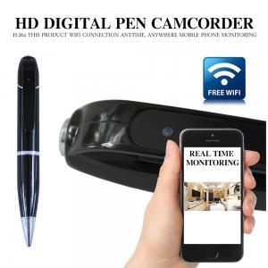 Buy cheap 720P Pen Webcam Mini Spy Pen CCTV Camera Wifi Network Pen Camera from wholesalers
