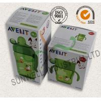 Milk Bottle Colored Corrugated Packaging Boxes , Custom Sized Cardboard Boxes Manufactures