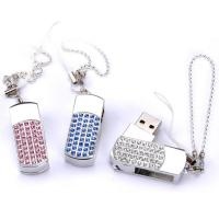 Quality Diamond Lover Encrypted Secure Usb Flash Drive Necklace Jewelry Custom for sale