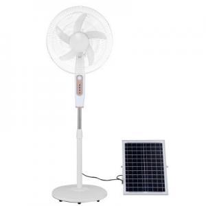 Aluminum 24000mah 20w Portable Solar Floor Fan 1A Adapter Manufactures