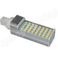 Buy cheap AC85-265V 4 PIN G24 LED Lamp , 8w/ 10W / 12W LED PLC light For Indoor from wholesalers