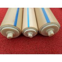 Natural Color Plastic Nylon Rollers Small Power Consumption For Industries , Long Service Life Manufactures