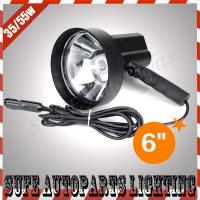 6'' 12v 55w HID Portable Light Outdoor working Boat Hunting HID Handheld Search Light Manufactures