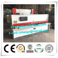 10x3200 NC Hydraulic Shearing Machine Swing Type Electric Controller System Manufactures