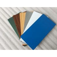 Glossy Blue ACP Aluminium Composite Panel 2000mm Width With 0.30mm Alu Thickness Manufactures
