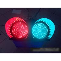 Buy cheap 2 Color Solar Powered Traffic Signs Red Green Flashing Signal Light from wholesalers