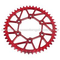 Quality CNC Billet Anodized Finish Dirt Bike Sprockets Yamaha R15 Motorbike Rear for sale