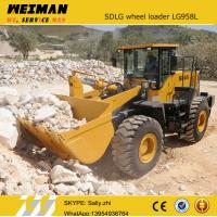 brand new SDLG front bucket loader LG958L with rock bucket 2.0m3 , china construction machinery from chinese supplier Manufactures