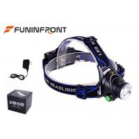 Quality CREE XM-L2 1200LMs Powerful Water Resistant Outdoor LED Headlamp for sale
