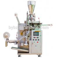 CE approved YB-180C automatic tea bag packing machine with tag Manufactures