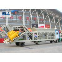 High Automation Mobile Concrete Batching Plant Aggregate Batching Plant High Capacity Manufactures