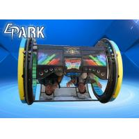 Remote Controlled Intelligent Walking Ride On Car / Rolling Ride Happy Car 3s In Playground And Amusement Center Manufactures