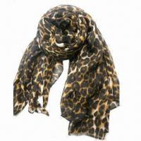 Neck Scarf, Made of 100% Rayon, with All Over Print Manufactures