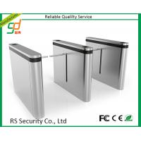 Quality Standing Up Safety Drop Arm Turnstile Security Gates Stadium Gym Access Control for sale