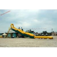 Residential Rent Inflatable Water Slides For Adults / Backyard Water Slide Manufactures