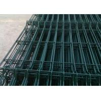 Durable Welded Wire Fence Q195 Steel Wire Raw Materials With Anti - Thief Post Manufactures