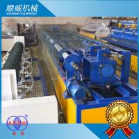 Chain Link Fence Making Machine 4.2m Weaving Breadth PLC automatic controller Manufactures