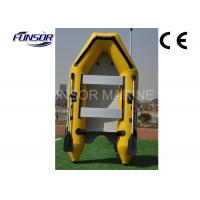 Durable Yellow PVC 6 Person Inflatable Boat Inflatable Fishing Boats Manufactures