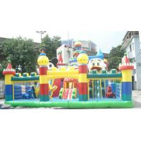 Large Outdoor Funny PVC Inflatable Jumping Castles 8m x 6m Manufactures
