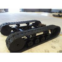 Dp-lfg-400 Rubber Excavator Undercarriage Parts With 4t Loading Weight Manufactures