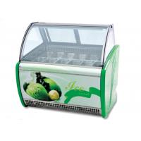 -16~-20℃ Ice Cream Display Showcase / Commercial Refrigerator Freezer Manufactures