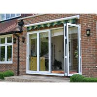 Large Modern Aluminium Double Glazed Bi Fold Doors Size Customized Windproof Manufactures