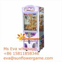 Crazy Toy2 Plush Toy Crane Machine For Sale From China Factory Directly Manufactures