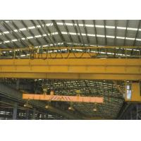 Electric Traveling Overhead Crane Bridge Crane with Carrier Beam Spreader Clamp for Sale Manufactures