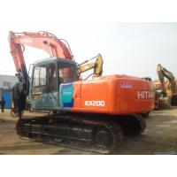 Buy cheap Hitachi EX200-3 Used Crawler Excavator Crawler 2910mm Stick Length 0.8cbm Bucket from wholesalers