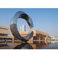 500cm Large Outdoor Metal Sculptures Abstract For Building Decoration Manufactures