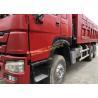 HOWO 10 Wheel Used Dump Truck , 375hp Horsepower Sinotruk Howo 6x4 Dump Truck Used Manufactures