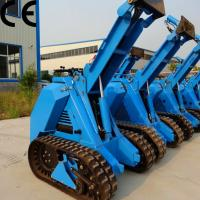 MS series compact mini crawler loader for sale mini skid steer Manufactures