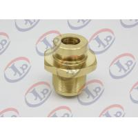 CNC Precision Components With Internal / External Thread , Brass Fasteners For Air Pump Manufactures