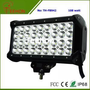 108 Watt 9 Inch Quad-Row off-Road LED Light Bar for ATV and UTV Manufactures