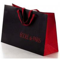 Loop Handled Paper Shopping Custom Printed Gift Bags for Packing Manufactures