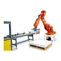 Quality 36000 BPH Robot Packaging Machines Beverage Line Bottle Robotic Palletiser for sale
