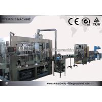 China 4Kw Milk / Beverage Production Line Mineral Water Bottle Filling Plant on sale