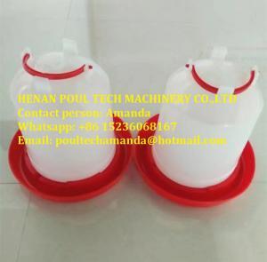 Poultry&Livestock Farm White Plastic Chicken Waterer & Chicken Drinker & Day Old Chicken Drinker Manufactures