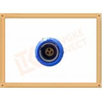3 Pin Push Pull Female Circular Plastic Connectors M0 Shell Size Manufactures