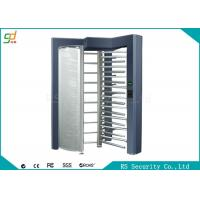 Single Lane Full Height Turnstiles Security Turnstile Gate For Pedestrian Access Manufactures