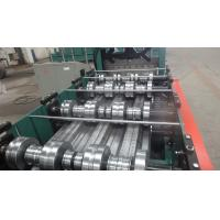 Building Meta Closed Mouth Floor Deck Roll Forming Machine 0.8-1.6mm Thickness Manufactures