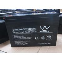 100Ah deep cycle charging lead acid batteries inverter solar Good discharge performance Manufactures